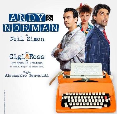 Andy e Norman con Gigi e Ross al Teatro Puccini