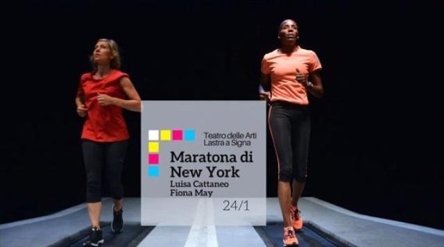 Maratona di New York con Luisa Cattaneo e Fiona May al Teatro delle Arti