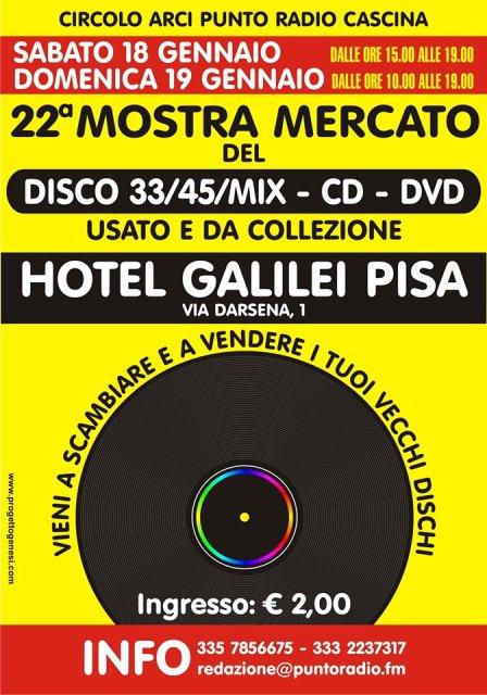 Mostra del Disco CD e DVD usato e da collezione