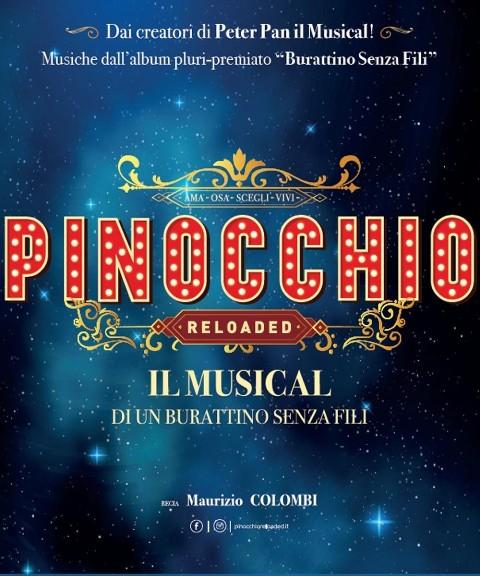 Pinocchio Reloaded – Musical di un burattino senza fili al Teatro Verdi