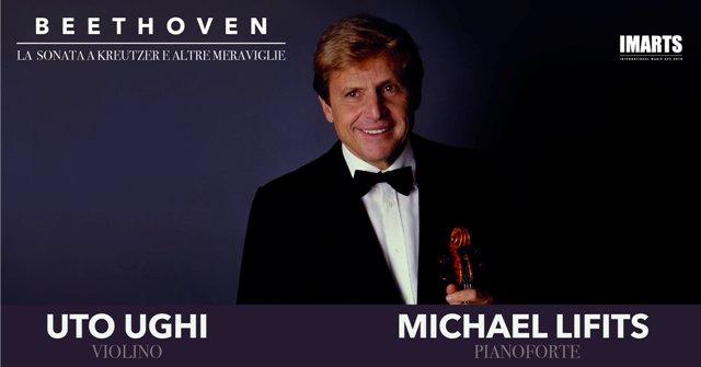 La sonata a Kreutzer e altre meraviglie con Uto Ughi al violino e Michail Lifits al pianoforte al Teatro Verdi
