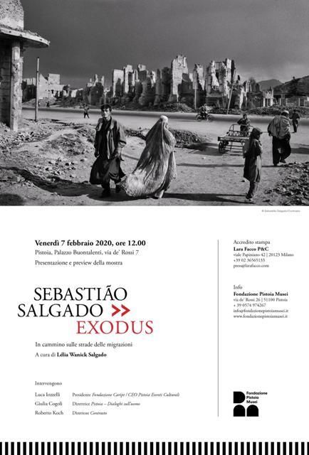 Sebastiao Salgado Exodus. In cammino sulle strade delle migrazioni a Palazzo Buontalenti