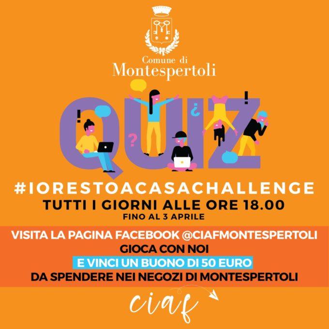 Il Comune di Montespertoli lancia la #IORESTOACASACHALLENGE