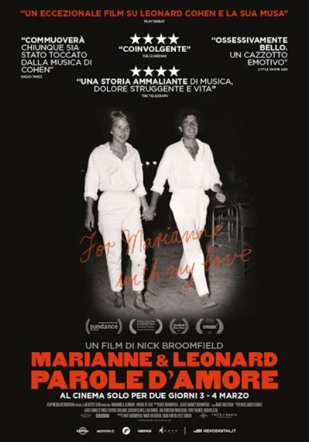 Marianne e Leonard. Parole d'amore