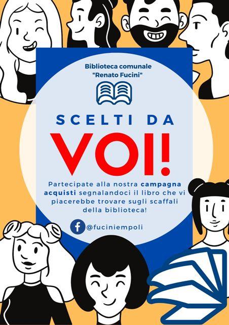 Scelti da Voi: al via la nuova campagna acquisti della biblioteca comunale Renato Fucini