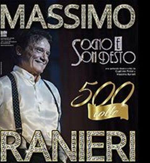 Massimo Ranieri in concerto al Nelson Mandela Forum, rimandato al 2021