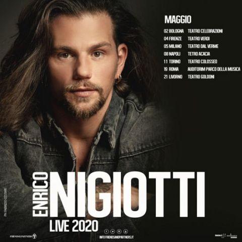 Enrico Nigiotti: concerto rinviato al 22 ottobre al Teatro Verdi