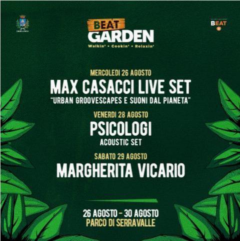 Beat Garden, al parco di Serravalle cinque giorni tra musica e relax