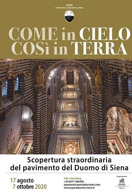 Come in cielo così in terra. Scopertura straordinaria del Pavimento del Duomo di Siena