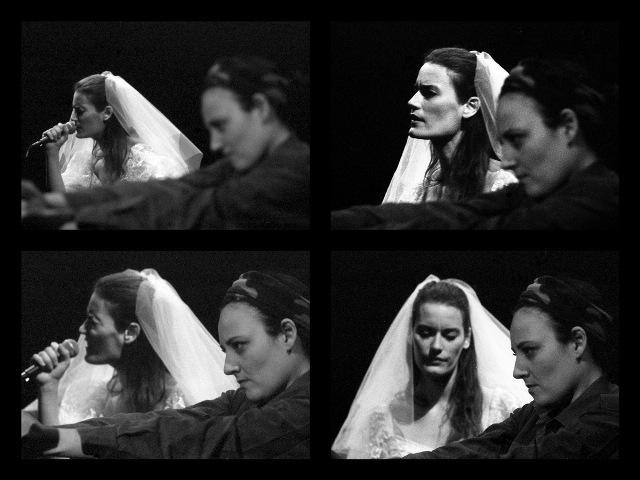 La sposa guerra di Annick Emdin in scena sul palco del Teatro Nuovo