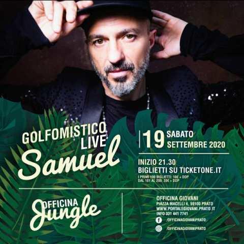 Officina Jungle, Officina Giovani a Prato il programma della settimana: Samuel dei Subsonica e Duofernandez