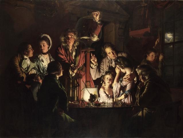 In trasferta dalla National Gallery di Londra arriva in mostra agli Uffizi il celebre Esperimento di Joseph Wright od Derby
