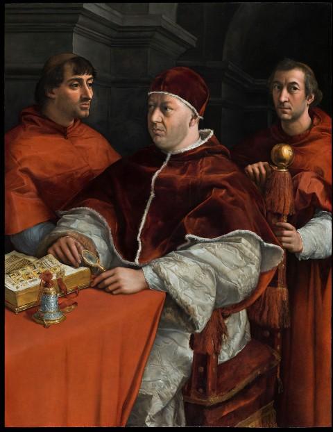 Il Papa dei Medici ritorna a Firenze. La conferma grazie alle indagini per il restauro: fu dipinto interamente da Raffaello