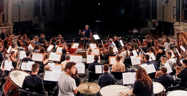 Inaugurazione dell'anno accademico all'ISSM L. Boccherini con il concerto dell'orchestra dell'istituto nella Cattedrale di S.Martino