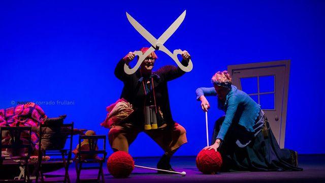 Cappuccetto e la nonna per la rassegna Dire Fare Teatrare con Vania Pucci al Minimal Teatro di Empoli