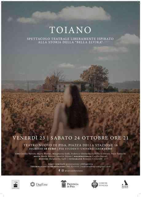 Toiano rivive sul palco del Teatro Nuovo di Pisa