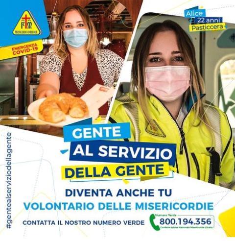 È l'ora di dare una mano, l'appello delle Misericordie Italiane per trovare nuovi volontari