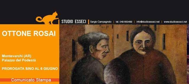 Riapertura della mostra dedicata a Ottone Rosai organizzata dal Comune di Montevarchi