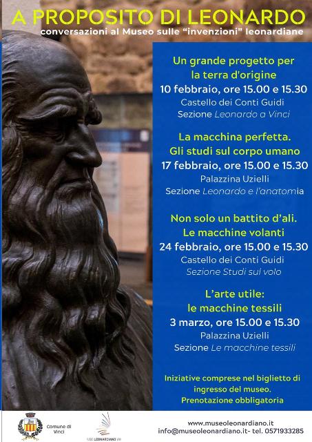 A proposito di Leonardo: Conversazioni al Museo sulle invenzioni leonardiane
