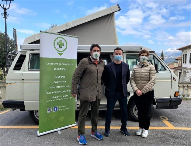 Un camper per i tamponi gratuiti a studenti, insegnanti e familiari: alla farmacia di Bagno a Ripoli via allo screening