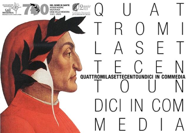 Dante 700, arriva Quattromilasettecentoundici in Commedia, progetto europeo promosso dalle Case della Memoria
