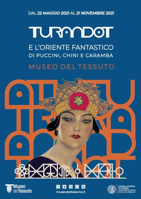 Turandot e l'Oriente fantastico di Puccini, Chini e Caramba al Museo del Tessuto