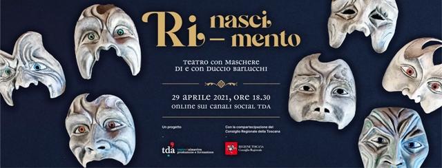 Ri-nascimento! spettacolo on line dal Teatro d'Almaviva