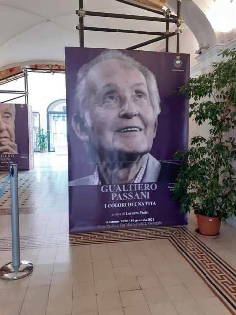 Villa Paolina riapre con le opere di Gualtiero Passani