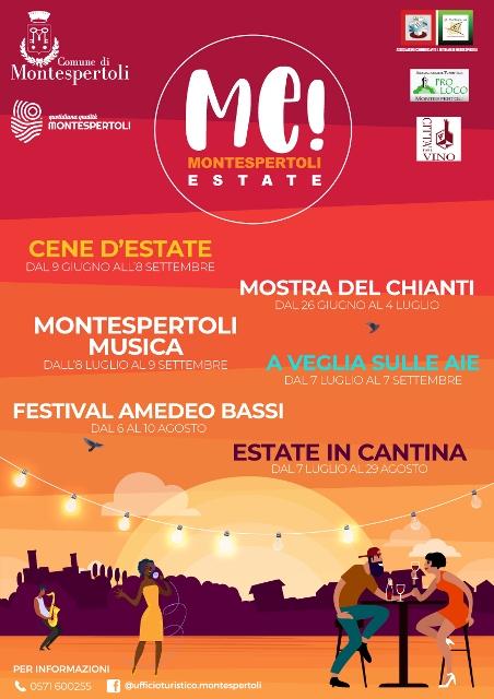 ME! Montespertoli Estate: tanti eventi per l'estate 2021