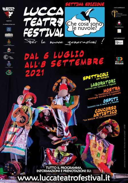Lucca Teatro Festival 2021 Che cosa sono le nuvole?