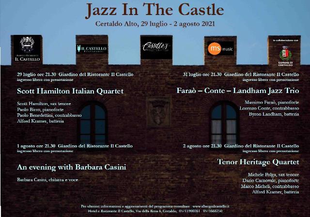 Jazz in the Castle 2021