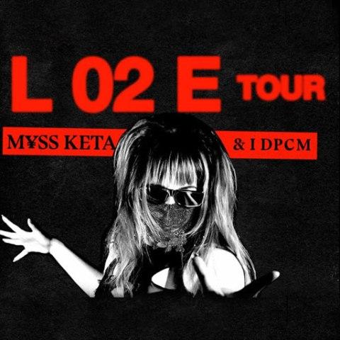 M¥SS KETA & DPCM L 02 e tour. In concerto con due date in Toscana: Arezzo e Empoli