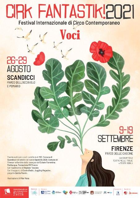 Cirk Fantastik 2021, il Festival internazionale di circo contemporaneo tra Scandicci e Firenze