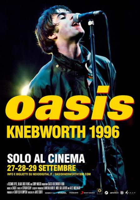 Oasis. Knebworth 1996