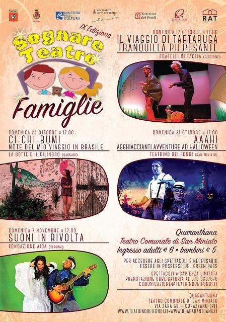 Sognare Teatro Famiglie al Quaranthana